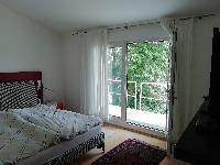 Schlafraum mit Balkon